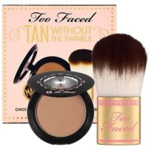 Too Faced Chocolate Soliel & Flatbuki Brush Set